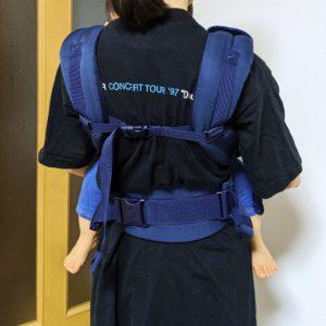 エルゴアダプトクールエアの胸ストラップの正しい位置